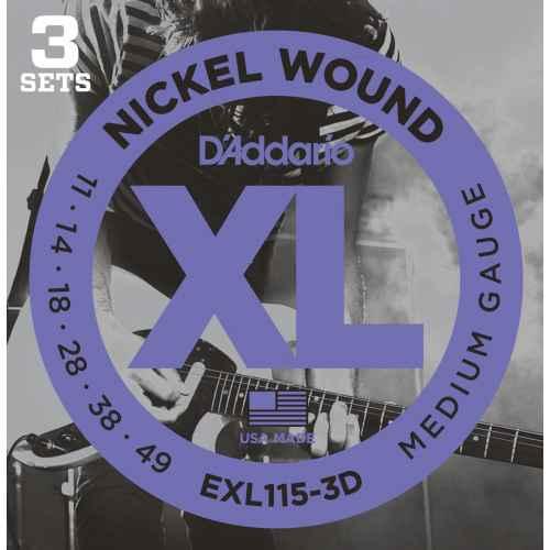 D´addario EXL115 3D   XL Blues Jazz Rock [11 49]